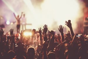 Crowd,At,Concert,-,Summer,Music,Festival