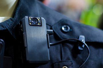 Close-up,Of,Police,Body,Camera