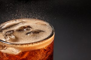 Fizz,Sparkling,Water,Refreshing,Bubbly,Soda,Pop,With,Ice,Cubes.
